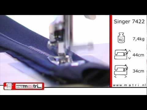 Singer 7422 Promo Naaimachine sewingmachine machine a coudre nähmaschinen