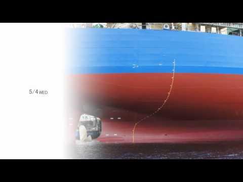 x Pict Story HD - 千葉県市原市にある三井造船千葉事業所へ知人の所有するプレジャーボートに乗って行き海上から撮影。 完成前の貨物船進水はしていますが、艤装工事が着々と進行中のようです。...