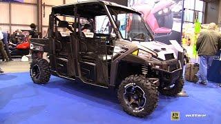 7. 2016 Polaris Ranger Crew 900 EPS Utility ATV - Walkaround - 2015 EICMA Milan