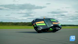 #Outrageous_Acts  Wednesdays at 9/8cVesa Kivimäki from Finland has set the world record for driving his car on only two tires at 116 MPH! They don't call him Crazy Vesa for nothing!Full Episodes Streaming FREE on Science GO: https://www.sciencechannelgo.com/outrageous-acts-of-science/More Outrageous Acts!http://www.sciencechannel.com/tv-shows/outrageous-acts-of-science/Subscribe to Science Channel:http://bit.ly/SubscribeScienceCheck out SCI2 for infinitely awesome science videos.  Every day.http://bit.ly/SCI2YTJoin Us on Facebook:http://www.facebook.com/ScienceChannelFollow Us on Twitter:http://www.twitter.com/sciencechannel