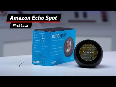 Amazon Echo Spot: Alexa kompakt mit Bildschirm