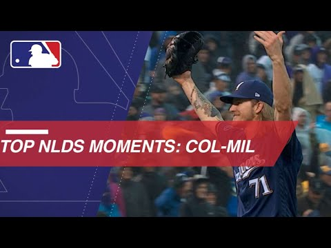 Video: Watch the best moments of NLDS between Rox and Brewers