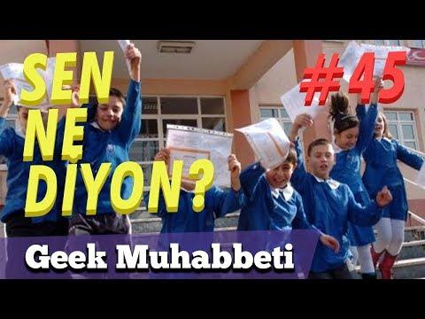 Video KARNE ANILARI // SEN NE DİYON #45 //