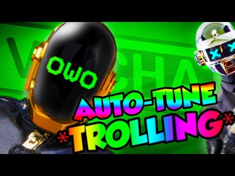 AUTO-TUNE VOICE TROLLING IN VRCHAT! (Hilarious!)
