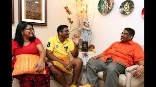 Sheila and Gunaseelan's journey in bringing their hearing impaired son up is a tale of sheer perseverance.