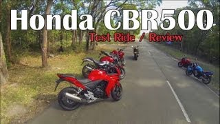 5. Honda CBR500R 2013 Review