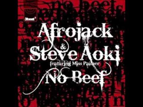 Afrojack & Steve Aoki - No Beef Ft. Miss Palmer LYRICS