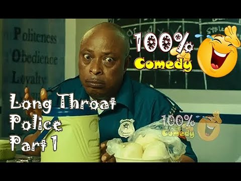 POLICE POST  - Long Throat Police 1/2 - Trending Nollywood comedy Series