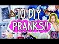 10 EPIC Pranks You NEED to Try!! | Sibling Prank Wars!!