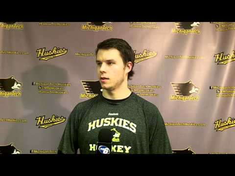 Tanner Kero Postgame Interview vs. UAH, 2-7-14