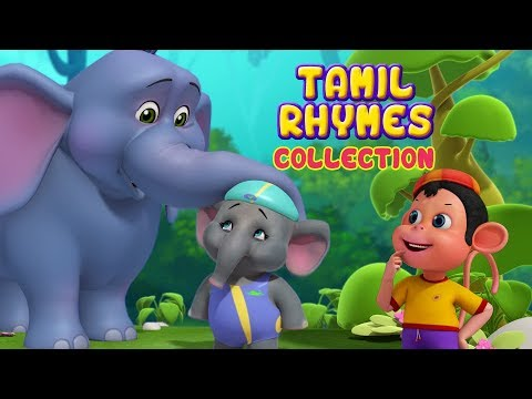 Tamil Rhymes Animal Video songs for Children