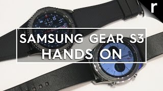 Samsung Gear S3 hands-on review: Samsung just unveiled its newest smartwatch, the Gear S3 at IFA 2016 and it carries the torch on from last year's Gear S2 wi...