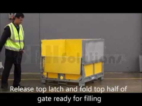MultiBox Folding Liquid Bag-in-Box IBC