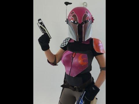 Star Wars Rebels, Sabine Wren Kostüm, Cosplay, aus Plastazote LD45-5mm, 66target