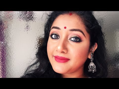 DURGA PUJA SPECIAL || TRADITIONAL MAKEUP || IN BENGALI ||BEWIDSHREE
