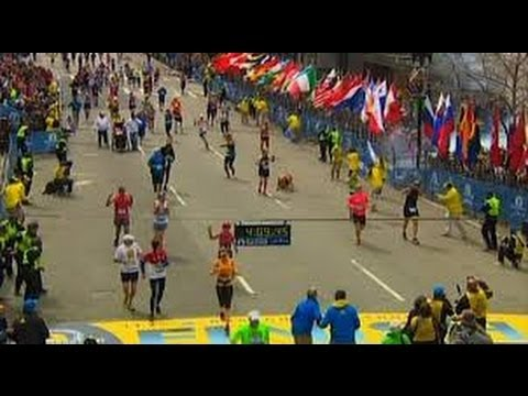 Boston Marathon Bombing - Breaking News Video