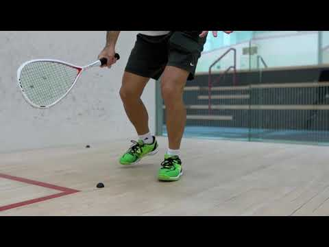 Squash tips: Movement drills with Thierry Lincou