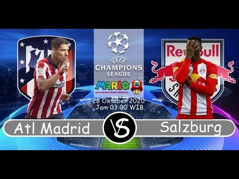 Full Match Atletico Madrid vs Red Bull Salzburg   3-2  Liga Champion 28/10/2020