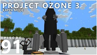 Project Ozone 3 Kappa Mode - URANUS [E91] (Modded Minecraft Sky Block)