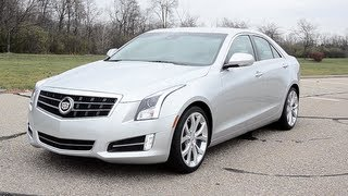 2013 Cadillac ATS 3.6 - WINDING ROAD POV Test Drive