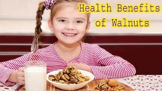 Health Benefits of Walnuts 1# Helps weight loss: Contrary to what people believe, walnuts can form a part of weight management diet. Several studies have sug...