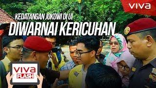 Video Kedatangan Jokowi ke UI diwarnai Kericuhan MP3, 3GP, MP4, WEBM, AVI, FLV Maret 2019