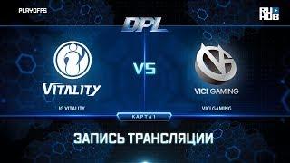 IG.Vitality vs Vici Gaming, DPL 2018, game 1 [Lex, 4ce]