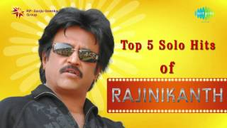 Top 5 Solo hits of Rajini | Jukebox