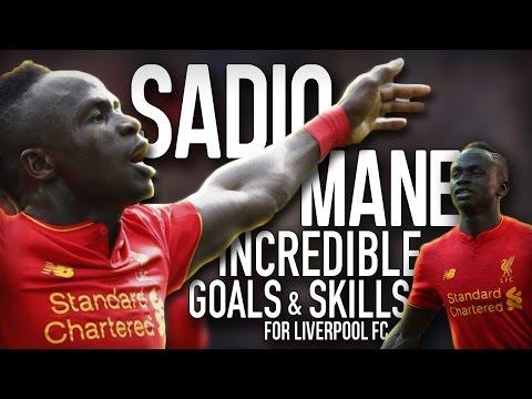 Sadio Mane - Incredible Goals & Skills - 2016/17 🔥