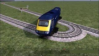 Train Simulator 2015: Sharpest curve for trains! Scherpste bocht voor treinen!