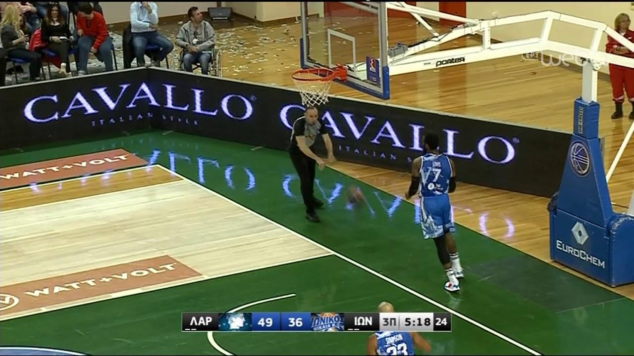 Basket League 2019-2020: ΛΑΡΙΣΑ – ΙΩΝΙΚΟΣ | HIGHLIGHTS | 01/02/2020 | ΕΡΤ