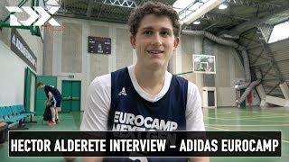 Hector Alderete Interview - Adidas Eurocamp
