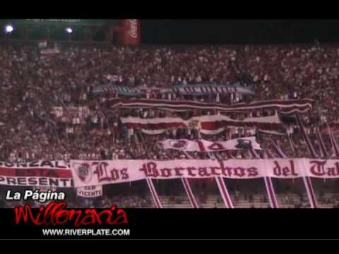 """Video - """"Te ví campeón, siempre de la cabeza"""" - Hinchada River Plate - Los Borrachos del Tablón - River Plate - Argentina"""