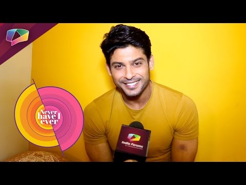 Siddharth Shukla Plays Never Have I Ever   Exclusi