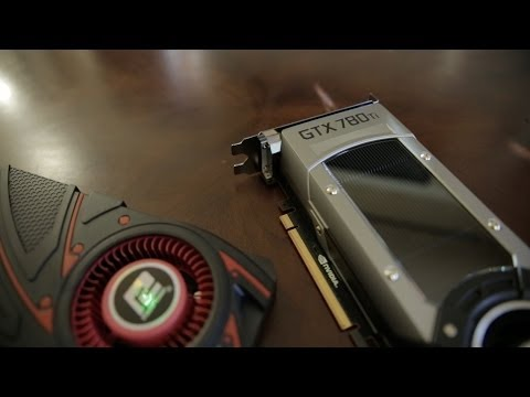 nvidia - NVIDIA GTX 780 Ti Review! http://bit.ly/1cH5x7M - GTX 780 Ti Pricing: http://amzn.to/1bbAcHc - R9 290X Pricing: http://amzn.to/193SSUj Is NVIDIA's new GTX 78...