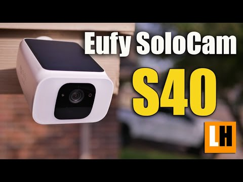 Eufy SoloCam S40 Review - Wireless WIFI Camera with integrated Spotlight and Solar Panel