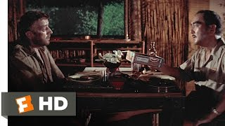 The Bridge on the River Kwai (2/8) Movie CLIP - Dinner with Saito (1957) HD