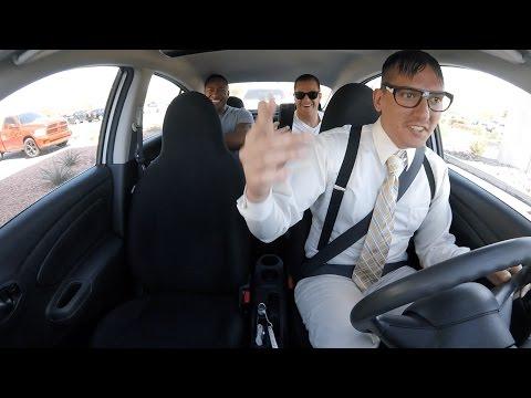 Uber-kuski yllättää kyytiläiset räppäämällä