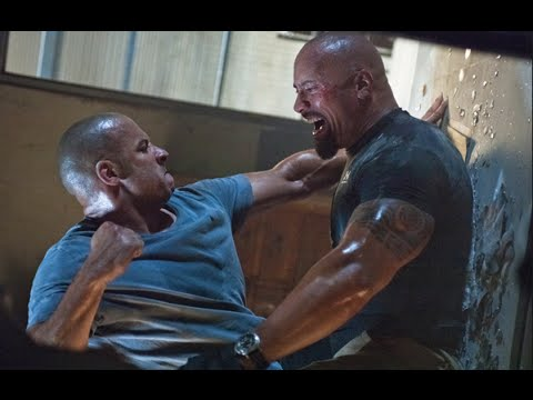 Vin Diesel Vs The Rock Fight Fast Furious