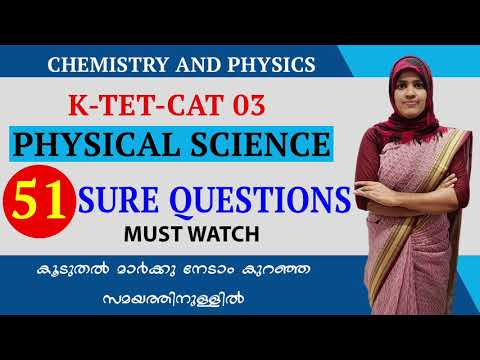 Ktet Physical Science |physics and Chemistry