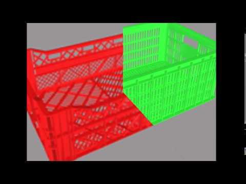 Nhà cung cấp rổ nhựa đan công nghiệp giá cạnh tranh
