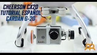 Video Cardán o gimbal para drone Cheerson CX20 Parte 1 Español MP3, 3GP, MP4, WEBM, AVI, FLV Juni 2018