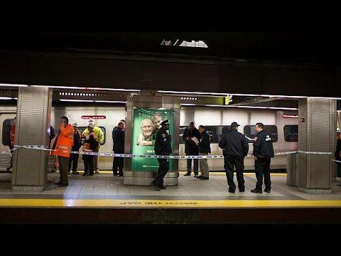 Δεκάδες τραυματίες από εκτροχιασμό τρένου σε σταθμό στην Νέα Υόρκη