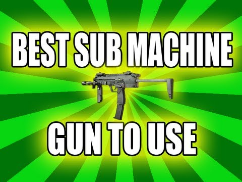 Best Sub Machine gun in MW3 - Please LIKE + FAVORITE for more! http://www.facebook.com/I2awInstinct Follow me on Twitter! http://www.twitter.com/I2awInstinct -----------------------------...