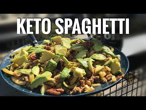 Low carb diet - LOW CARB KETO SPAGHETTI!