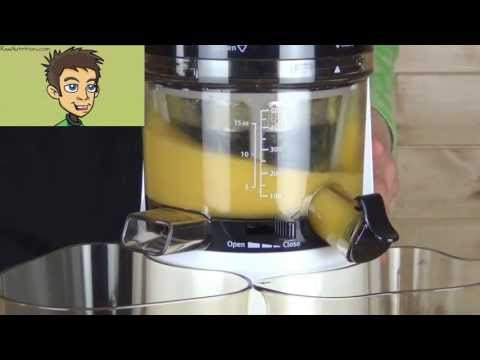 Hurom Premium HH Series Slow Juicer & Smoothie Maker Demo in the Raw Nutrition Kitchen