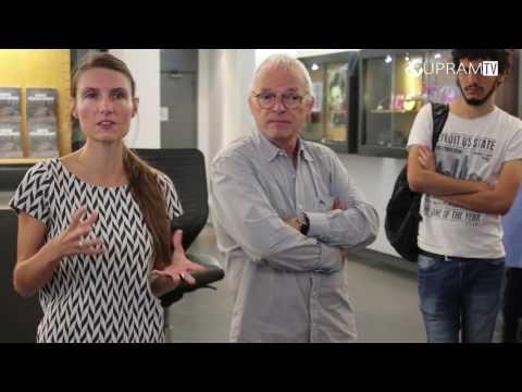Nice: Visite des étudiants Master info com de l'UNS au MAMAC