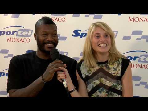 ITW Candice Prevost & Djibril Cissé