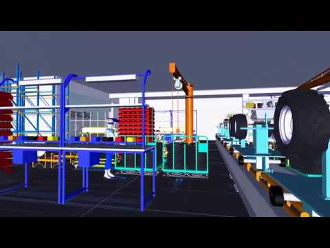 Factory Design Utilities software lets you plan and validate factory layouts for efficient equipment placement to improve production performance. (video: 2:37 min.)