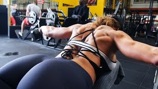 Back And Bicep Workout / Fitness Girls Motivation / Actual knowledge This video starts as a back and bicep workout with a hot fitness girl that's motivating,...